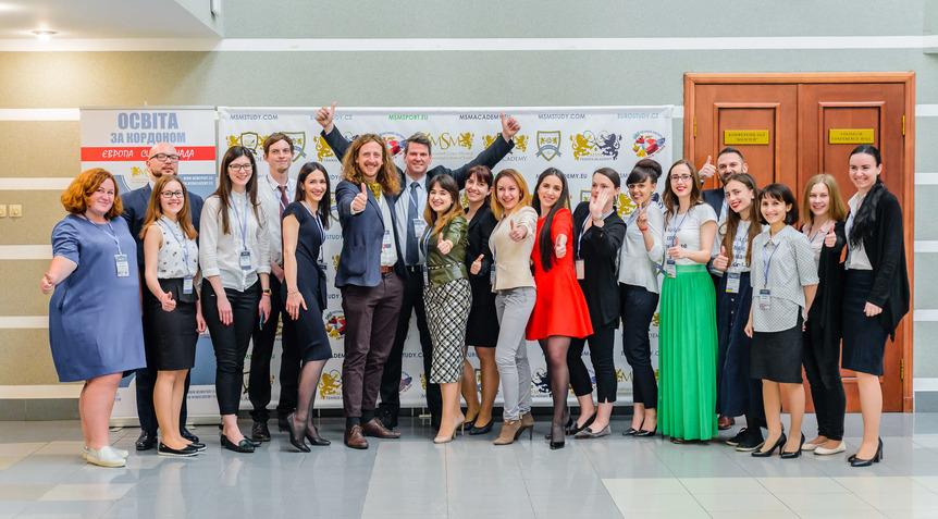 команда Міжнародного Союзу Молоді msmstudy.com.ua